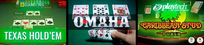 poker pa nett varianter i Norge