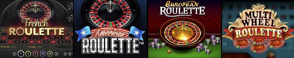 Ulike variasjoner av roulette online